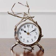 Twig Clock-Nickel
