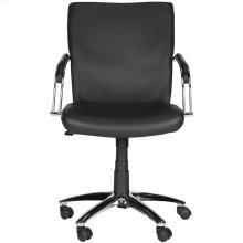 Lysette Desk Chair - Black