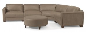 Wyman Leather Sectional