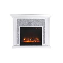 Dressed in a galaxy of dazzling silver crystals and accentuated with gleaming mirror panels, this fireplace is never one to shy away from the spotlight. Whether you are hosting a formal dinner party with associates or a casual get together with your loved ones, the comfort of the crackling fire in the wood log insert […]