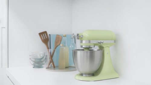 Artisan® Mini 3.5 Quart Tilt-Head Stand Mixer - Honeydew
