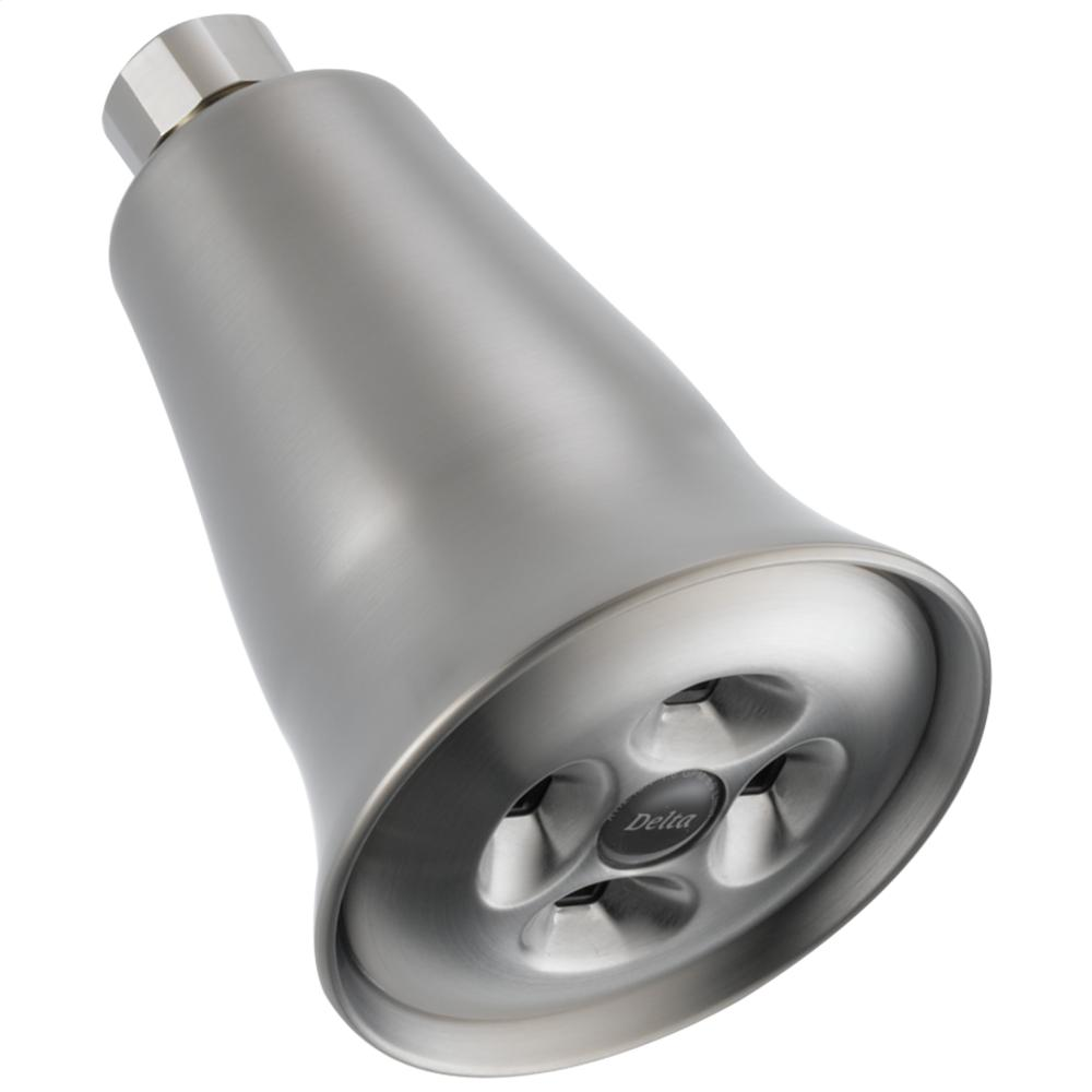 Stainless H2Okinetic ® Single-Setting Shower Head