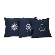 Admiral Pillows- Set of 3