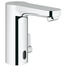 Eurosmart Cosmopolitan E Infra-red electronic basin mixer with mixing device and adjustable temperature limiter