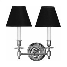 Visual Comfort S2112BZ-T Studio French Library 2 Light 13 inch Bronze Decorative Wall Light in Tissue Silk