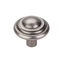 Aspen Button Knob 1 3/4 Inch - Silicon Bronze Light