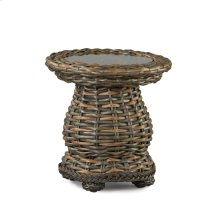South Hampton Round Woven Accent Table