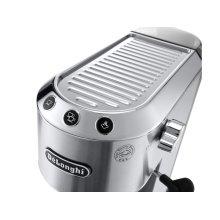 Dedica DeLuxe Manual Espresso Machine, Cappuccino Maker - Stainless Steel - EC685M