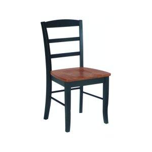 JOHN THOMAS FURNITUREMadrid Chair in Black & Cherry