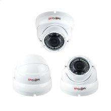 Dome Varifocal AHD 720P - White