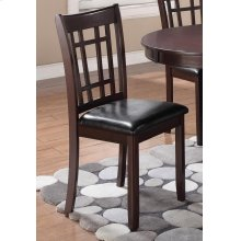 Lavon Transitional Warm Brown Dining Chair