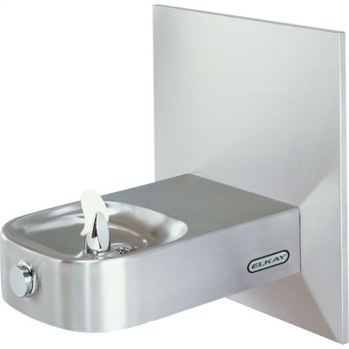 Elkay Slimline Soft Sides Fountain Non-Filtered Non-Refrigerated, Freeze Resistant Stainless
