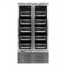 Stainless Two Door Meat Cabinet