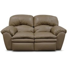 Oakland Leather Double Reclining Loveseat 7203L