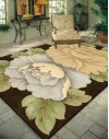 Tropics Ts09 Brn Rectangle Rug 8' X 11'