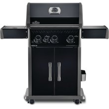 Rogue® 425 BE SIB with Infrared Side Burner, Black Edition , Black , Propane