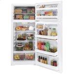 Hotpoint(r) 17.5 Cu. Ft. Recessed Handle Top-Freezer Refrigerator