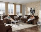 Power Headrest Power Lay Flat Reclining Console Loveseat Product Image