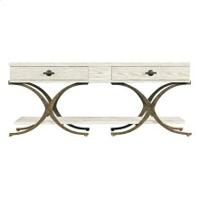 Coastal Living Resort Windward Dune Cocktail Table in Nautical White