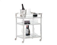 Margo Bar Cart - Clear