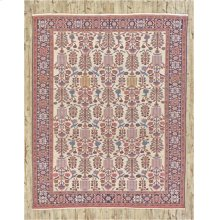 """PERSIAN 000046338 IN IVORY NAVY 8'-6"""" x 10'-1"""""""
