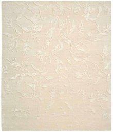 Silk Shadows Sha01 Iv Rectangle Rug 7'9'' X 9'9''