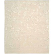 Silk Shadows Sha01 Iv Rectangle Rug 7'9'' X 9'9''