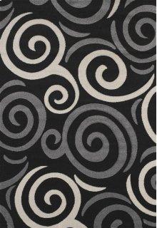 Townshend Pinball Black Rugs