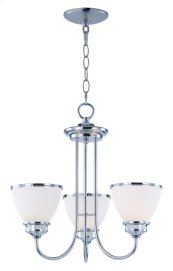 Novus 3-Light Chandelier