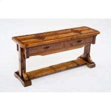 Mustang Canyon 72 X 20 Timber Frame Sofa Table