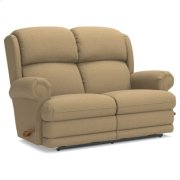 Kirkwood Reclina-Way® Full Reclining Loveseat w/ Brass Nail Head Trim Product Image