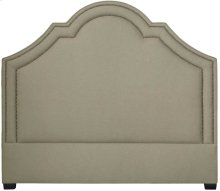 Queen-Sized Madison Crown Top Headboard in Espresso