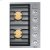 """Additional 36"""" Drop-In Gas Cooktop, Stainless Steel, Natural Gas"""