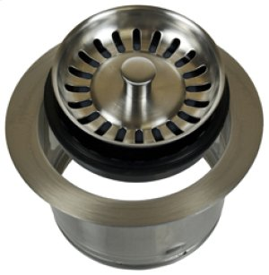 Complete Stopper & Strainer Unit Waste Disposer Trim - Extended Flange (Perfect Grind® compatible) - Oil Rubbed Bronze Product Image