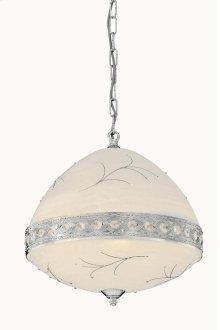 4720 Italia Collection Hanging Fixture Chrome Finish (Swarovski Elements Crystal Clear)