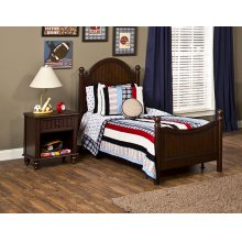 Westfield 4pc Twin Bedroom Set - Espresso