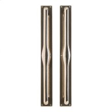 "Metro Push/Pull - 2 3/4"" x 23"" Silicon Bronze Brushed"