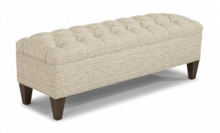 London Small Upholstered Bench
