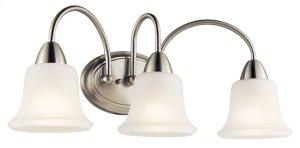 Nicholson 3 Light Vanity Light Brushed Nickel
