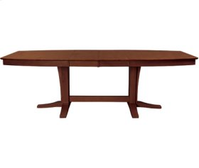 Milano Double Butterfly Ext. Table Espresso