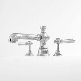 1800 Series Roman Tub Set with Ascot Handle (available as trim only P/N: 1.187777T)