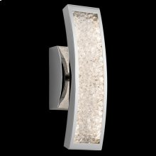 Crushed Ice - Model 83506 1-Light Wall Sconce