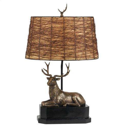 100W Deer Table Lamp