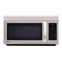 1.8 cu. ft. Over the Range Microwave Oven- Display Model Only - Full Manufacturer's warranty