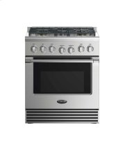 "30"" Dual Fuel Range: 5 Burners Product Image"