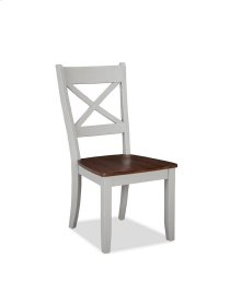 Small Space X-Back Side Chair