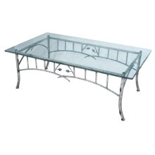 Whisper Creek Iron Coffee Table