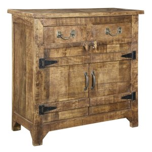 CRESTVIEW COLLECTIONSBengal Manor Mango Wood Cabinet