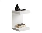 Bachelor TV Table - White Product Image