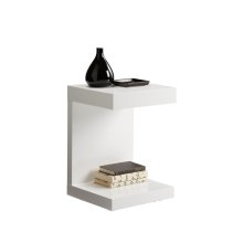 Bachelor TV Table - White